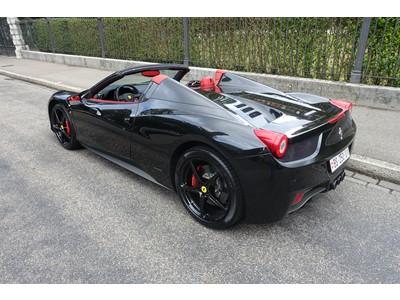 Ferrari 458 Spider Fahrzeugangebote Offizieller Ferrari Und Classiche Ferrari Verkauf Niki Hasler Ag