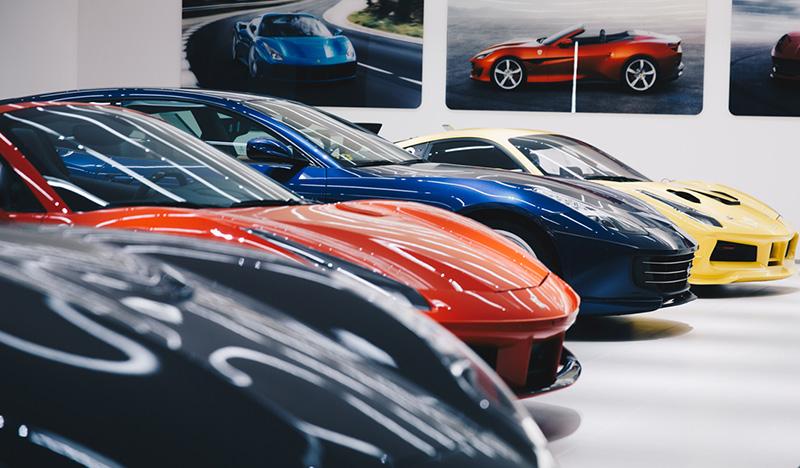 Ferrari Dealer & Restoration Specialists | Official Ferrari and
