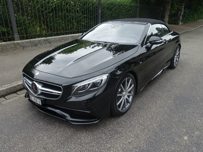 Mercedes-Benz S63 AMG Cabriolet 4Matic Speedshift MCT