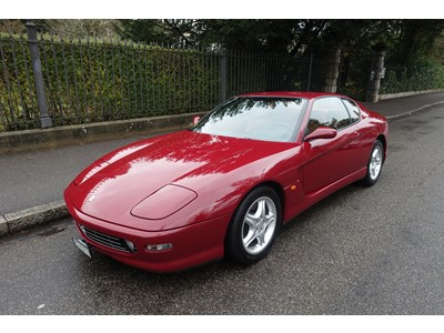 Ferrari 456m Gt Handschaltung Fahrzeugangebote Offizieller Ferrari Und Classiche Ferrari Verkauf Niki Hasler Ag